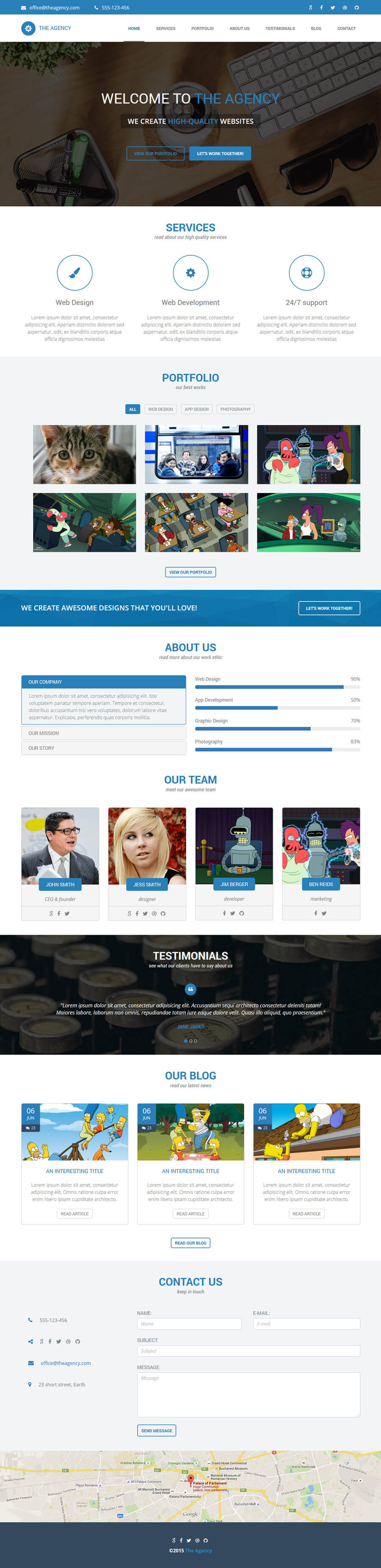 The Agency HTML Final