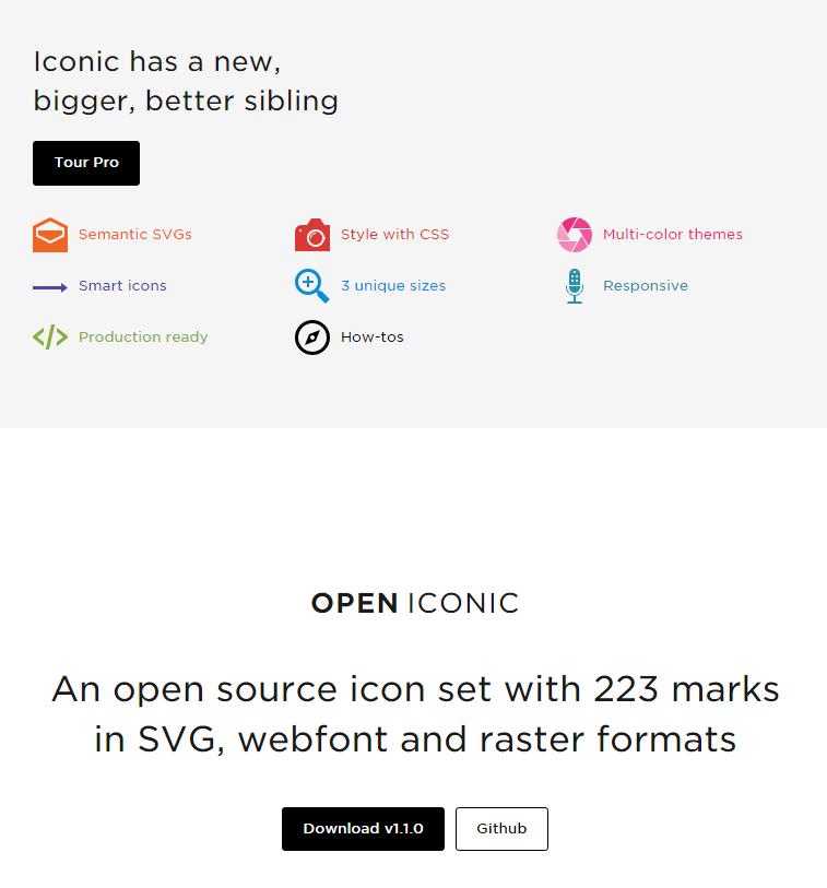 open iconic