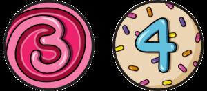 Levels 3 & 4 Badges